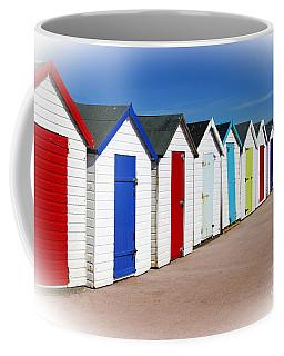Paignton Beach Huts Coffee Mug
