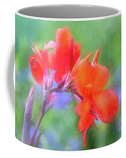 Painted Canna In The Evening Light Coffee Mug