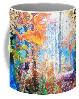 Painted Forest Coffee Mug
