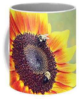 Painted Sun Coffee Mug