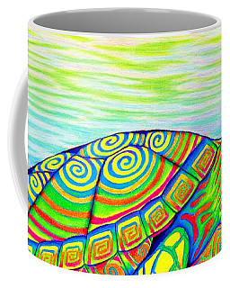 Painted Turtle Coffee Mug