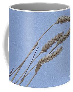 Painted Waves Of Grain Coffee Mug