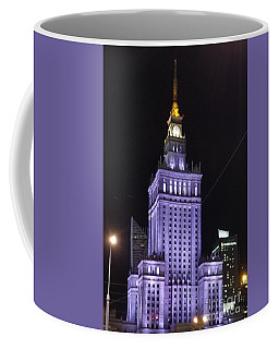Palace  Of Culture And Science  Coffee Mug