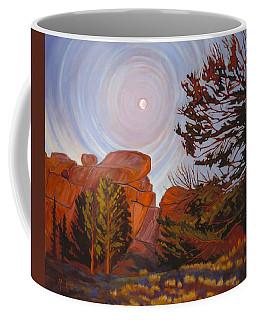 Pale Moon Over Vedauwoo Coffee Mug