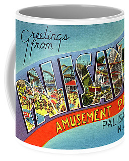 Palisades Amusement Park Greetings Coffee Mug