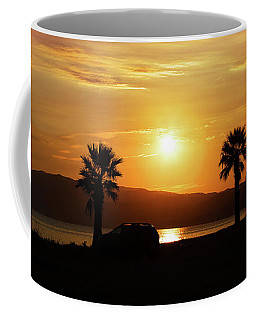 Palm Beach In Greece Coffee Mug