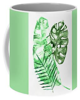 Palm Leaves-banana, Coconut, Monstera Coffee Mug