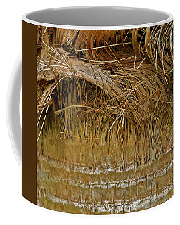Palm Tree Straw 2 Coffee Mug