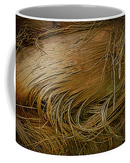 Palm Tree Straw Coffee Mug
