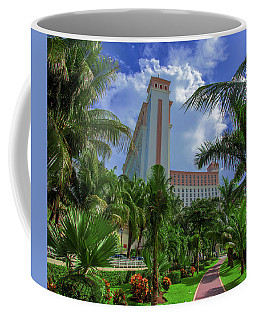 Palms At The Riu Cancun Coffee Mug