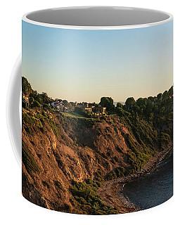 Coffee Mug featuring the photograph Palos Verdes Sundown by Michael Hope