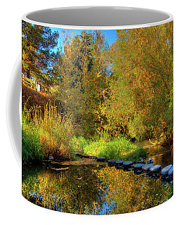 Coffee Mug featuring the photograph Palouse River Reflections by David Patterson