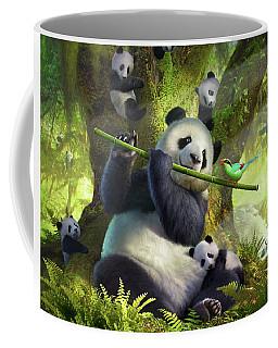 Pan Da Bear Coffee Mug