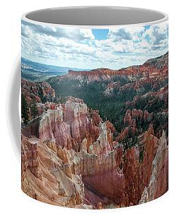 Panorama  From The Rim, Bryce Canyon  Coffee Mug