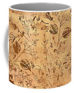 Paper Petal Patterns Coffee Mug