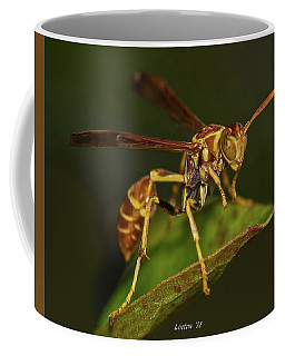 Paper Wasp Coffee Mug