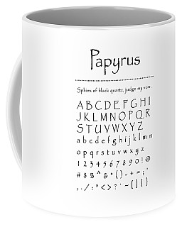 Papyrus - Most Wanted Coffee Mug