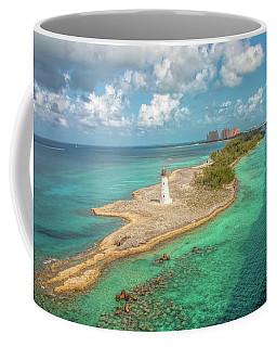Paradise Island Lighthouse Coffee Mug