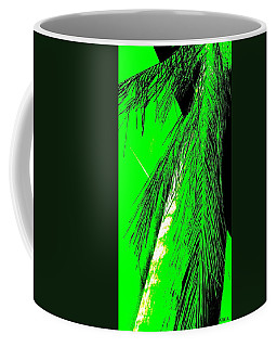 Coffee Mug featuring the photograph Paradise Palms Green by VIVA Anderson