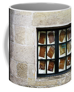 Coffee Mug featuring the photograph Parchment Panes by Rick Locke