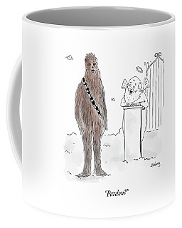 Pardon? Coffee Mug