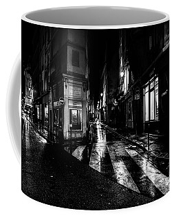 Paris At Night - Rue De Seine Coffee Mug
