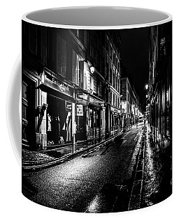 Paris At Night - Rue De Vernueuil Coffee Mug