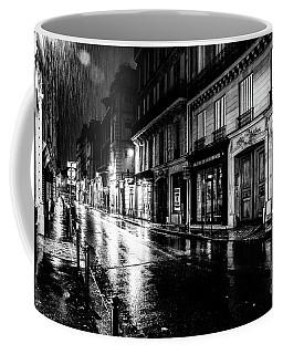 Paris At Night - Rue Saints Peres Coffee Mug