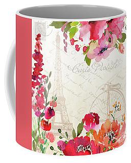 Paris Blossoms B Coffee Mug