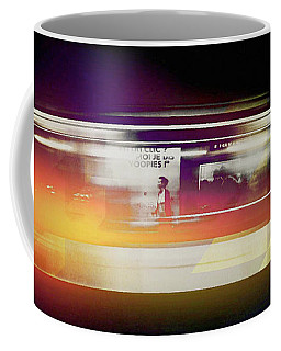 Coffee Mug featuring the photograph Paris Metro by Susan Maxwell Schmidt