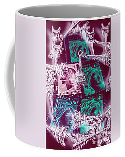 Parisian Postmarks Coffee Mug