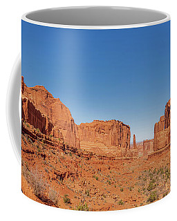 Coffee Mug featuring the photograph Park Avenue Stroll by Andy Crawford