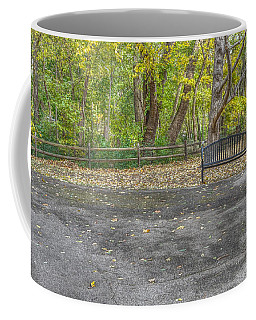 Park Bench @ Sharon Woods Coffee Mug