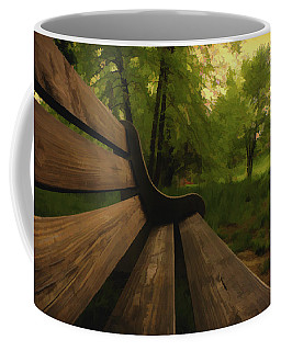 Park Bench Coffee Mug