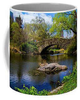 Coffee Mug featuring the photograph Park Bridge2 by Stuart Manning
