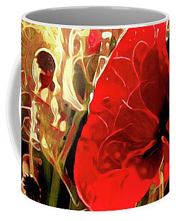 Passionate About Poppies Coffee Mug