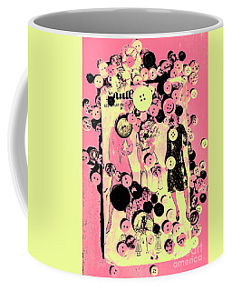 Past Patterns And Bygone Buttons Coffee Mug