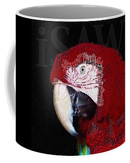Patchwork Parrot Coffee Mug
