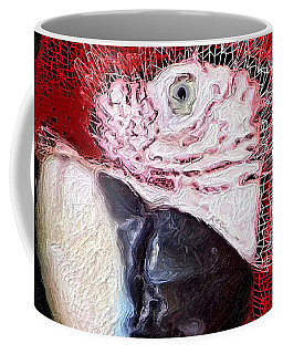 Patchwork Parrot Coffee Mug