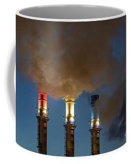 Patriotic Smokestacks Coffee Mug