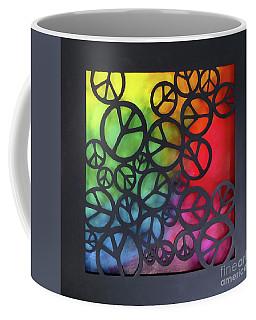 Peace Out Coffee Mug