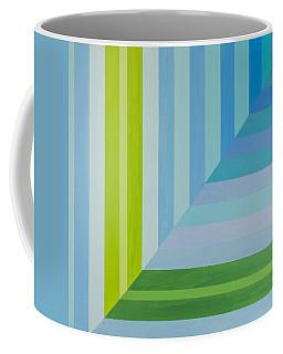 Peaceful Geometric Shade Coffee Mug