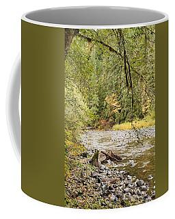 Peaceful Molalla River Coffee Mug