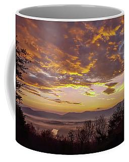 Peachy Shenandoah Valley Sunrise Coffee Mug