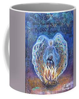 Peacock Angel Coffee Mug