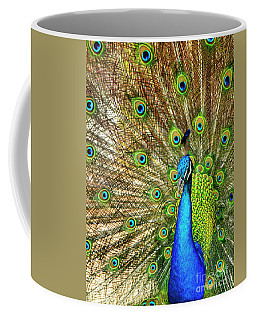 Peacock Colors Coffee Mug