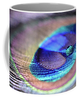 Coffee Mug featuring the photograph Peacocked by Michelle Wermuth