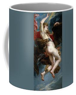 Pedro Pablo Rubens / 'the Rape Of Ganymede', 1636-1637, Flemish School, Oil On Canvas. Coffee Mug