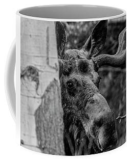 Peek-a-moose Coffee Mug