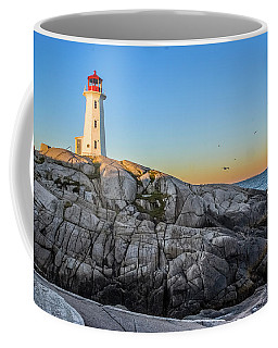 Peggys Cove Lighthouse Coffee Mug